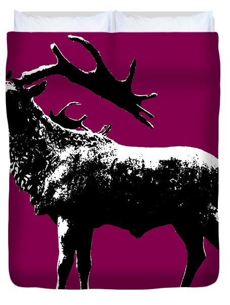 Elk Art Duvet Cover