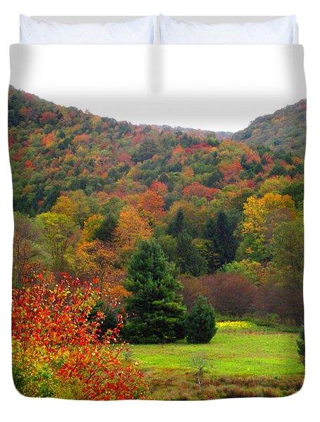 Elk Country Pennsylvania Duvet Cover