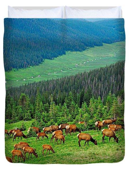 Elk Highlands Duvet Cover
