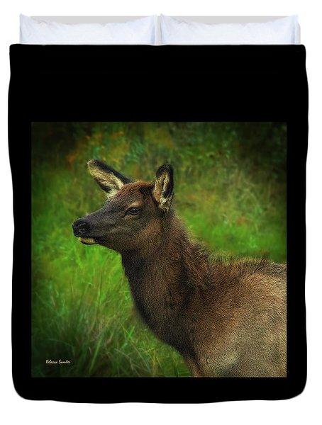 Elk Of Benezette Duvet Cover