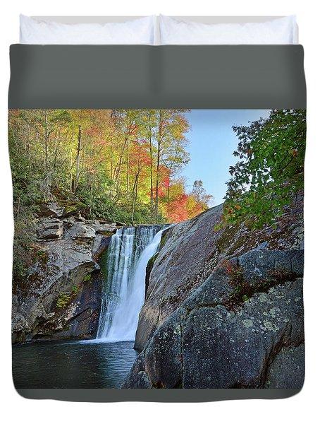 Elk River Falls Duvet Cover