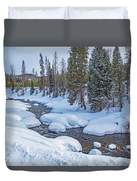 Elk River Duvet Cover