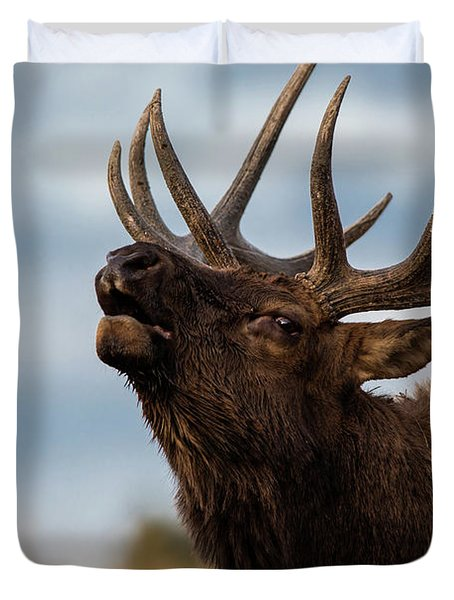 Elk's Screem Duvet Cover