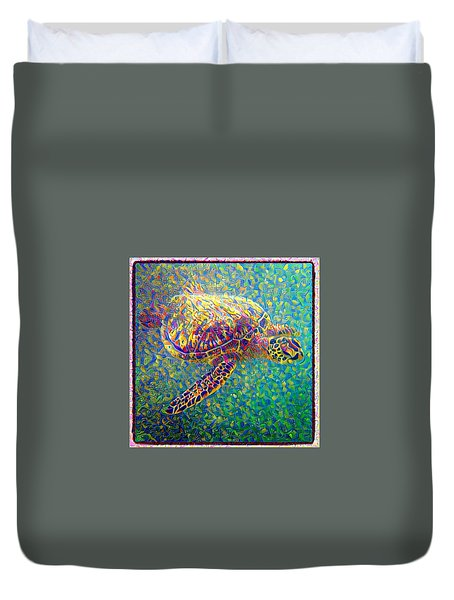 Ella The Turtle Duvet Cover