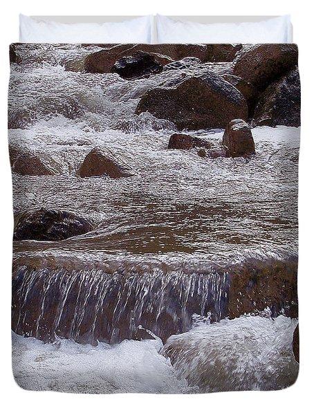 Ellenville Waterfall Duvet Cover