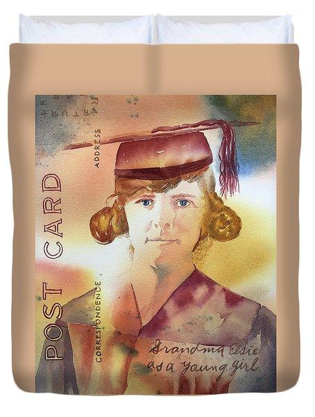 Elsie Circa 1915 Duvet Cover