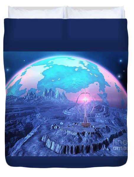 Elterra Duvet Cover by Corey Ford