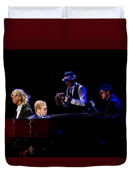 Elton - Gather Round Duvet Cover