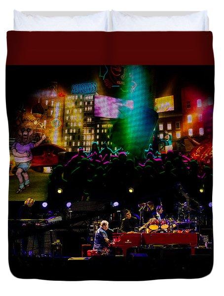 Elton - Sad Songs Duvet Cover