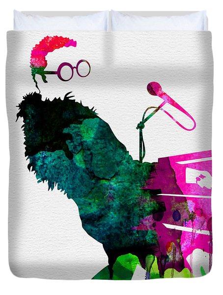 Elton Watercolor Duvet Cover