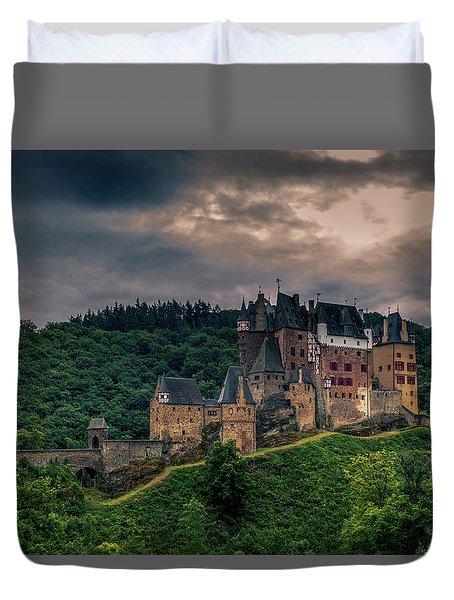 Eltz Castle Duvet Cover