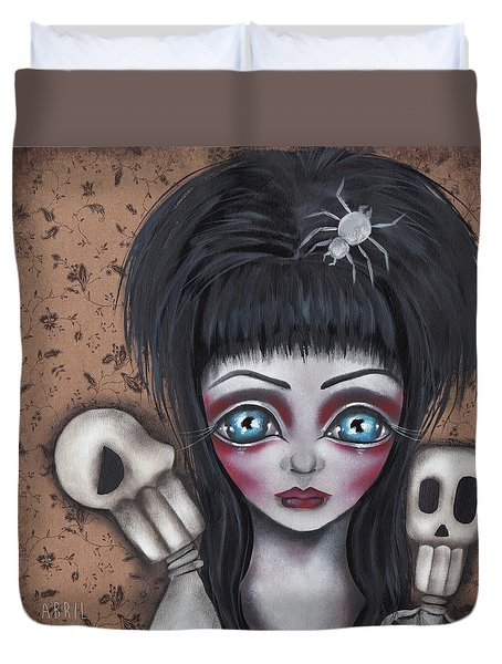 Elvira Duvet Cover by Abril Andrade Griffith