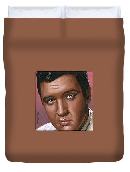 Elvis 24 1962 Duvet Cover by Rob De Vries