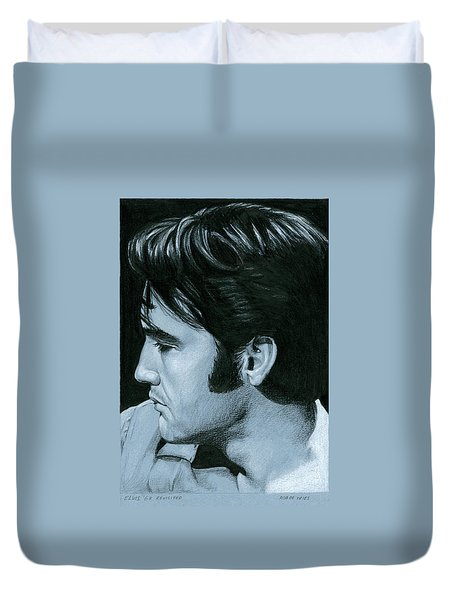 Elvis 68 Revisited Duvet Cover