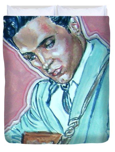 Elvis Presley Duvet Cover by Bryan Bustard