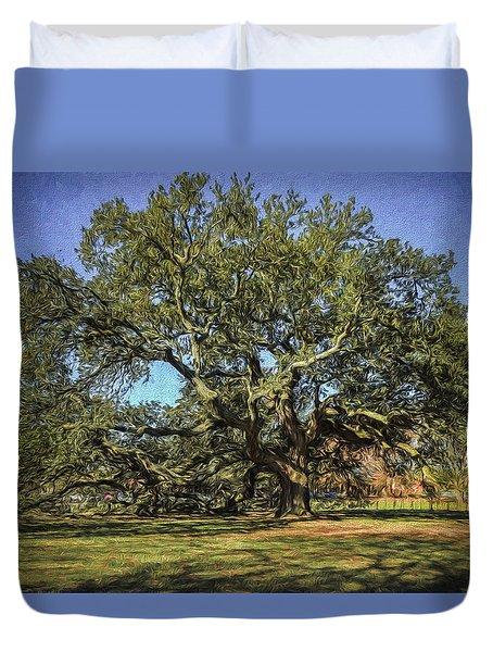 Emancipation Oak Tree Duvet Cover