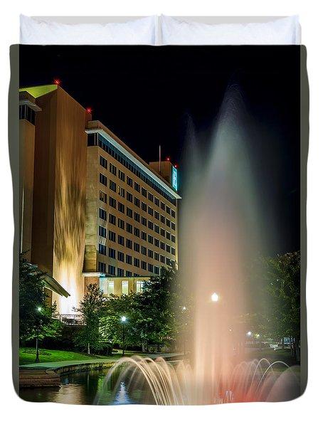 Embassy Suites Huntsville Duvet Cover