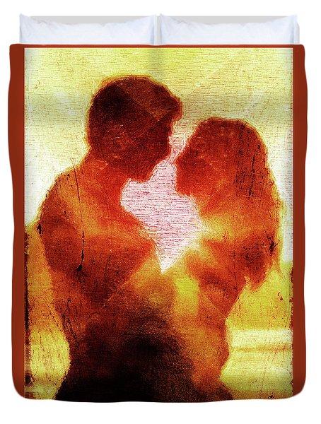 Embrace Duvet Cover by Andrea Barbieri