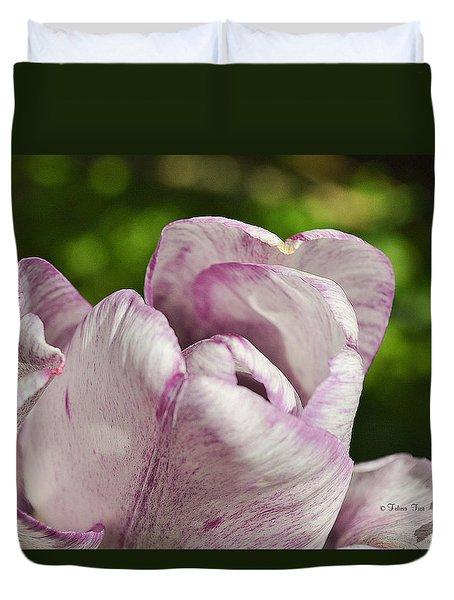 Embrace Duvet Cover by Felicia Tica