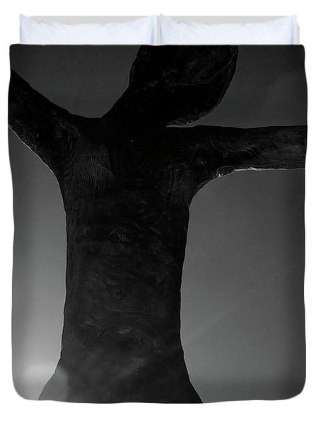Embrace Duvet Cover by Lisa Knechtel