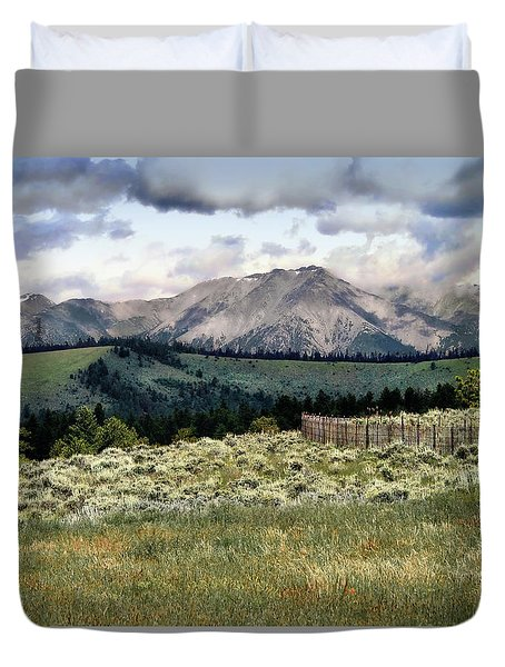 Embrace Possibility Duvet Cover