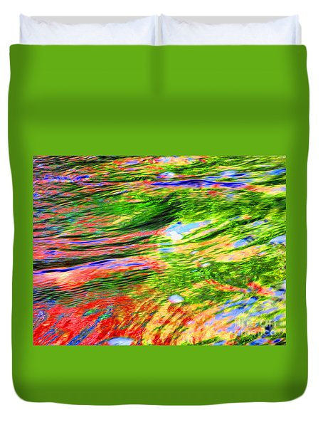 Embracing Change Duvet Cover