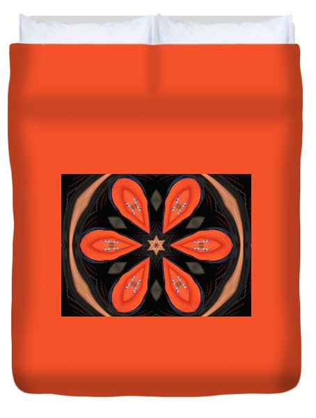 Embroidered Cloth Duvet Cover