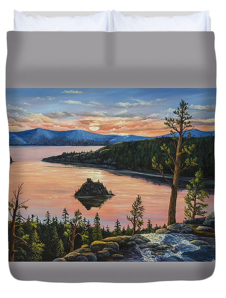 Emerald Bay Duvet Cover by Darice Machel McGuire