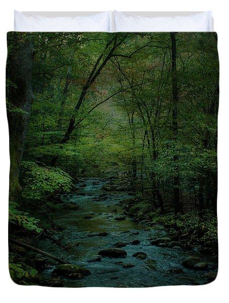 Emerald Creek Duvet Cover