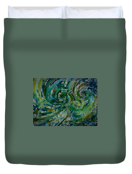 Emerald Green Duvet Cover