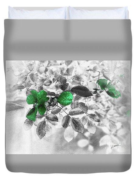 Emerald Green Of Ireland Duvet Cover