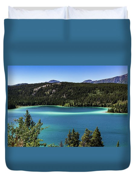 Emerald Lake 2 Duvet Cover