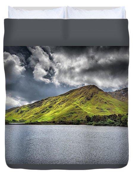 Emerald Peaks Duvet Cover