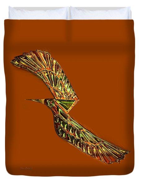 Emerald Wings Duvet Cover