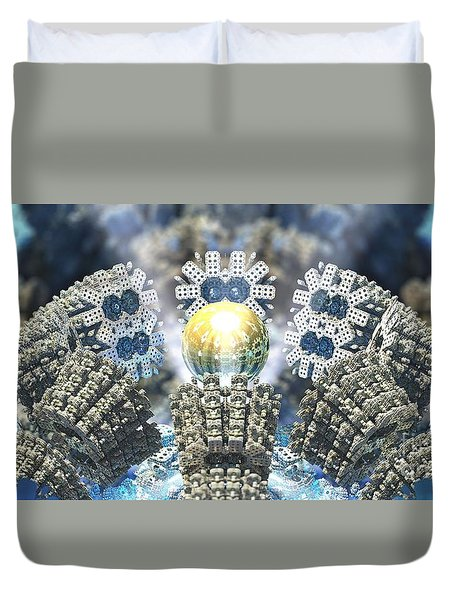 Emergence Duvet Cover