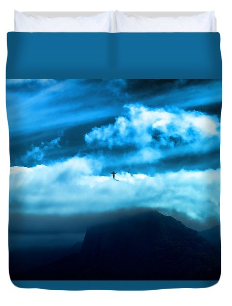 Emergence Duvet Cover by Kim Wilson