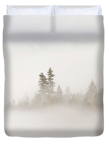 Emergence Duvet Cover by Mike  Dawson