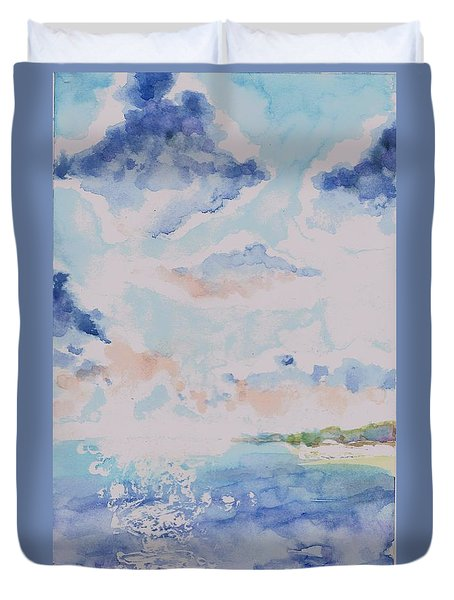 Emerging Sun 2 Duvet Cover