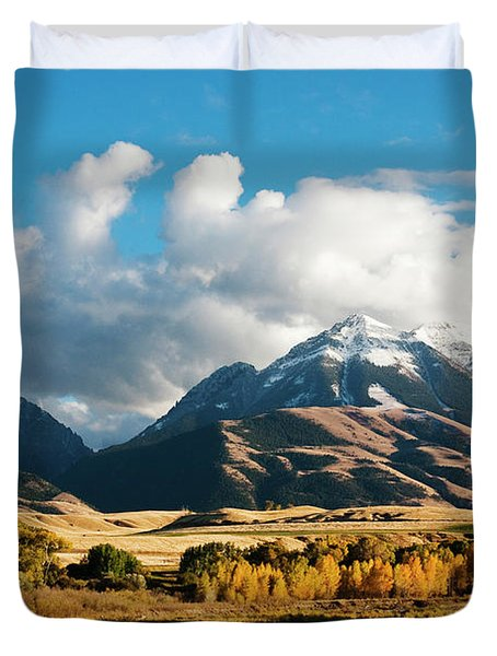 A Touch Of Paradise Duvet Cover