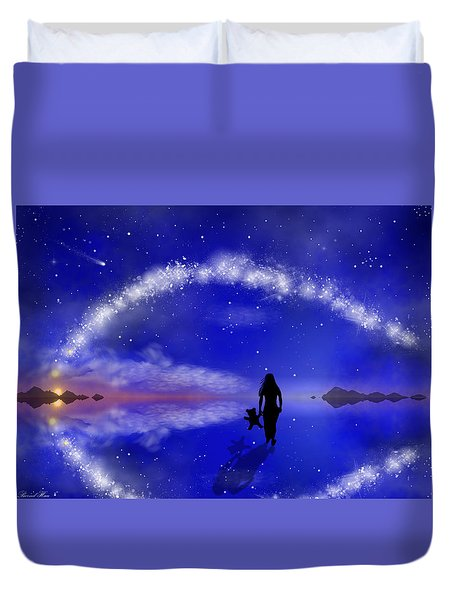 Emily's Journey Part 1 Duvet Cover