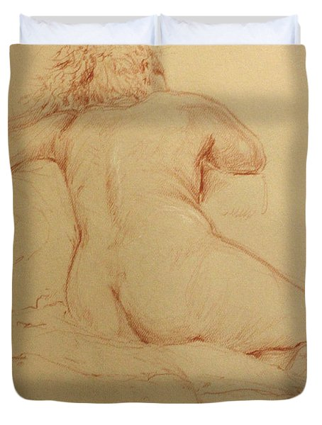 Duvet Cover featuring the painting Emma by James  Andrews