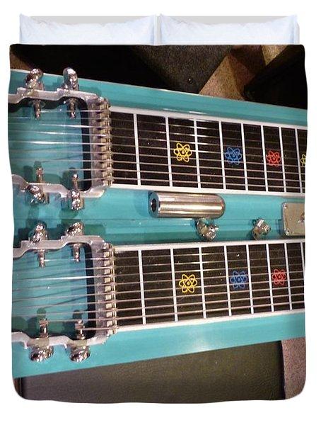 Emmons Lashley Legrande Pedal Steel Guitar Duvet Cover