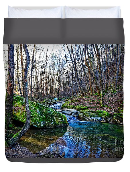 Emory Gap Branch Duvet Cover