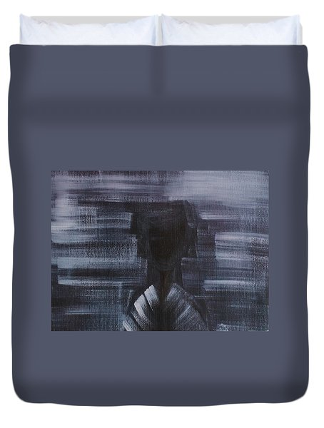 Emotion Is The Inner And  Thoughts Are Deep Duvet Cover
