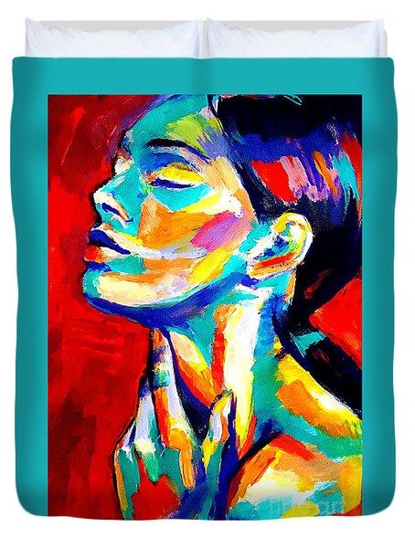 Emotions Duvet Cover by Helena Wierzbicki