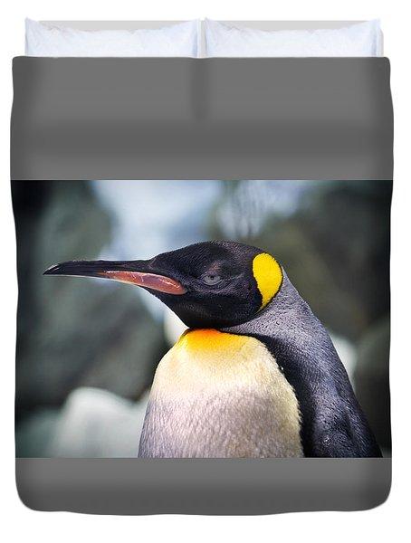Emperor Penguin Duvet Cover