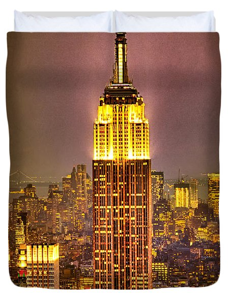 Empire Light Duvet Cover by Chris Lord