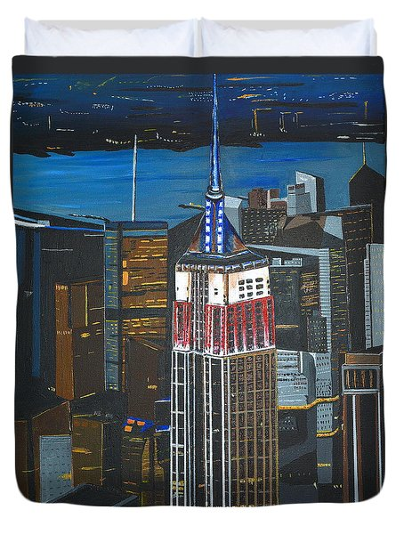 Empire State Duvet Cover