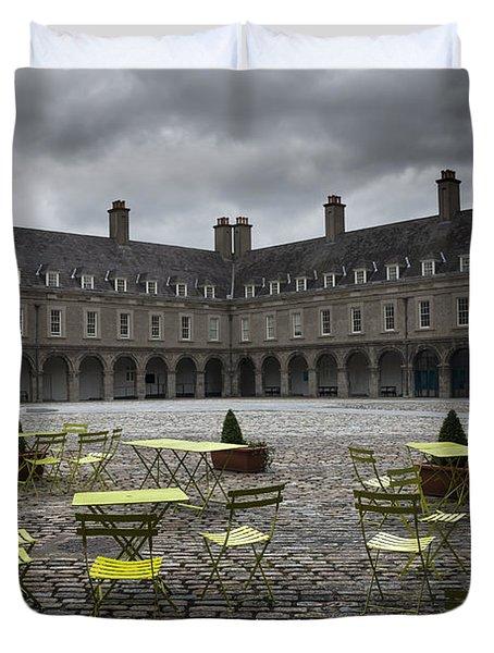 Empty Cafe Duvet Cover