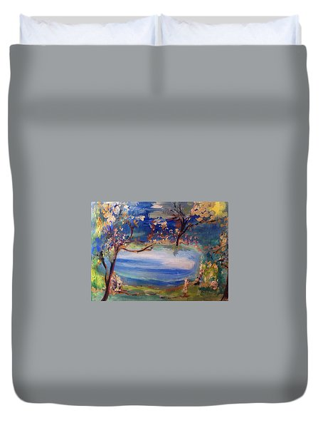 Empty Dreams  Duvet Cover by Judith Desrosiers